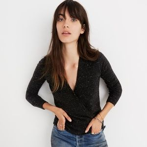 Madewell Donegal Wrap Sweater XS